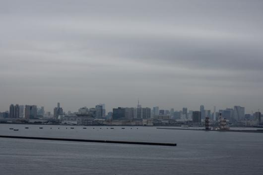 東京ゲートブリッジから東京タワー
