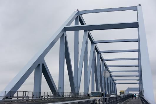 東京ゲートブリッジ骨組み