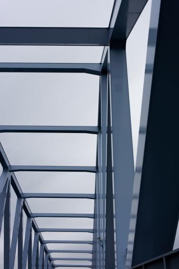 東京ゲートブリッジ骨組み接写