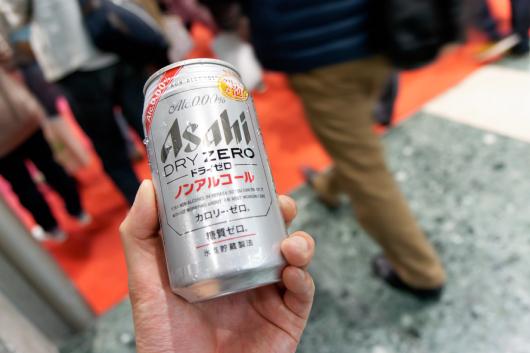 東京モーターショーアサヒノンアルコール