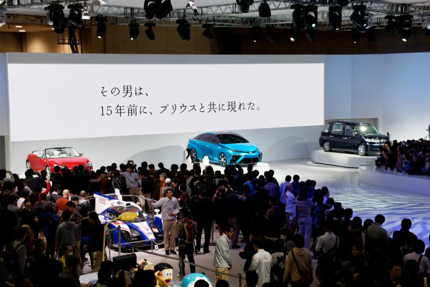 東京モーターショー2013「未来のくるま」