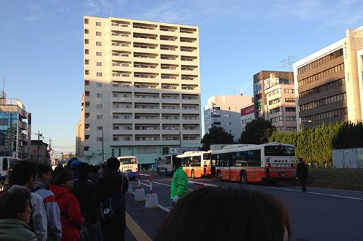 川越マラソン無料バス