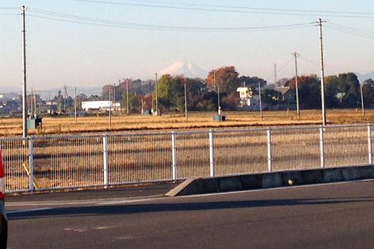 川越から富士山