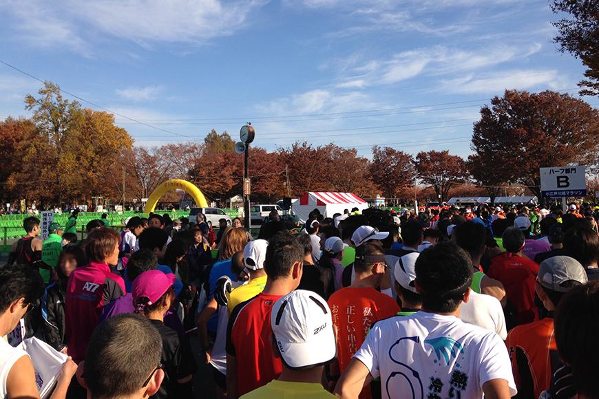 小江戸川越マラソン2013ランレポート
