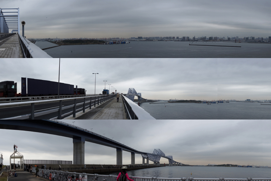 東京ゲートブリッジまで自転車ツーリング