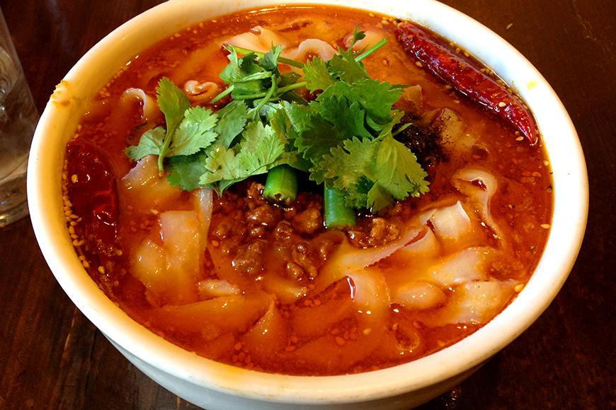 「刀削麺酒家」@浦和 マーラー刀削麺