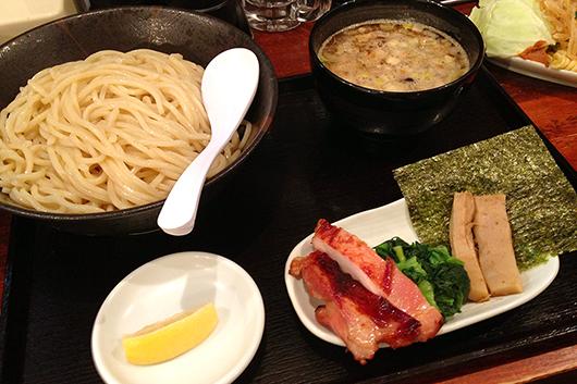 浦和鶏そば三むらつけ麺