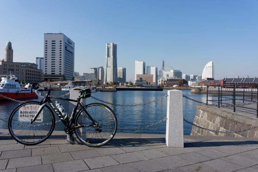 さいたま市から横浜まで自転車ツーリング(往路)