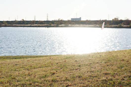 彩湖ウインドサーフィン