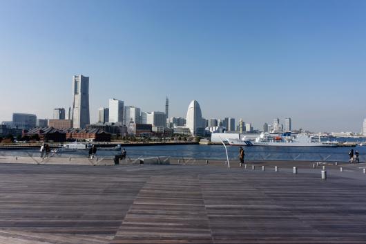 大桟橋から景色
