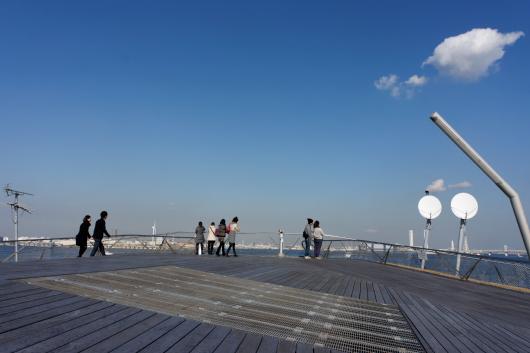 大桟橋先端