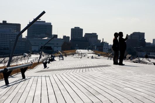大桟橋変わった形