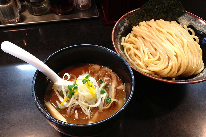 「麺処HARU晴」@鴬谷 濃厚つけ麺