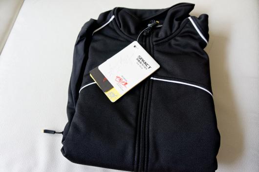 防風サイクルジャケット