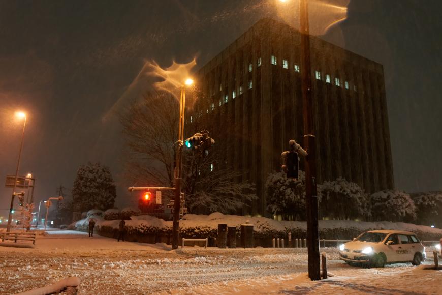2014年2月14日-15日大雪@浦和