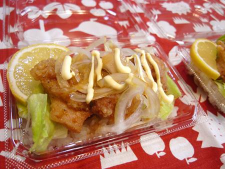 ミニ唐揚げ丼弁当