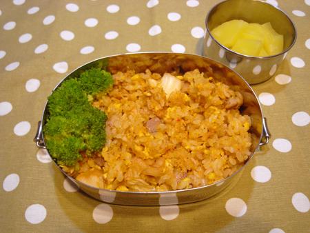 キムチ炒飯弁当