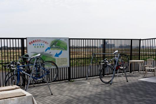 道の駅羽生自転車スペース