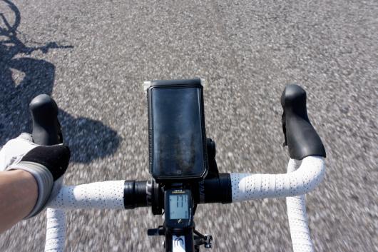 渡良瀬遊水地サイクリング日焼け