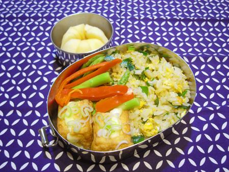 ニラ炒飯弁当