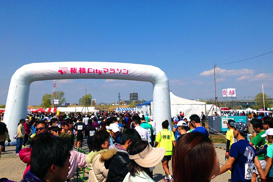 板橋Cityマラソン2014を走り終えて
