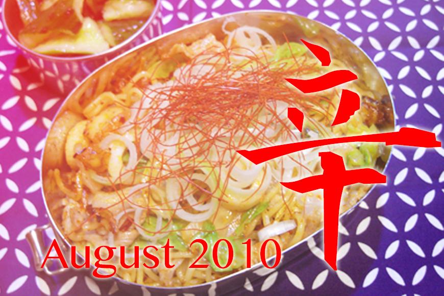 過去の弁当15「振り返る2010年08月」