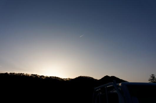 赤城山飛行機も近い