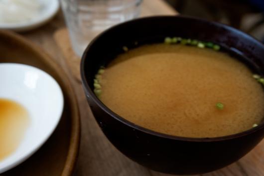 浦和こもれび食堂お味噌汁