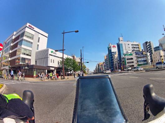 巣鴨駅自転車