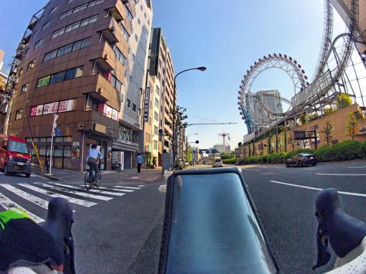 東京ドームシティ自転車