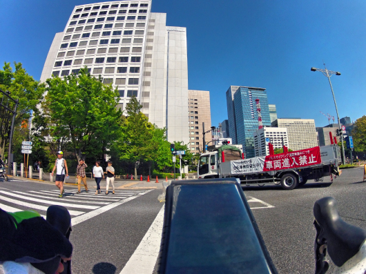 パレスサイクリング交通規制