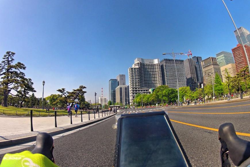 都内のど真ん中をおもいっきり走れるパレスサイクリングに行ってきた @皇居