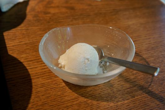浦和かねこデザート蕎麦アイス